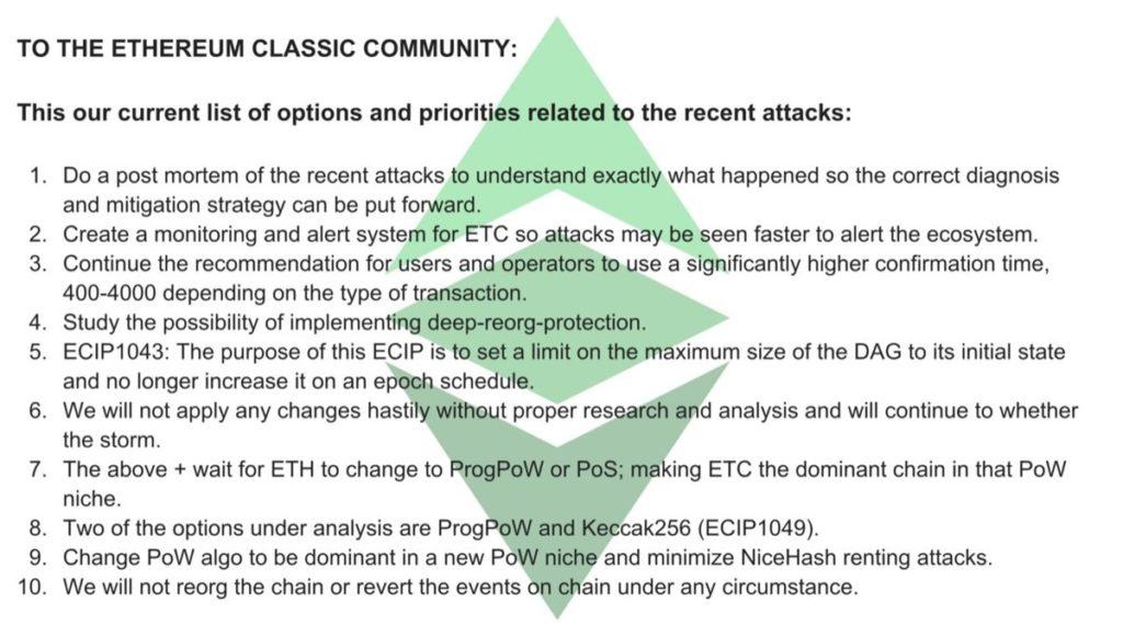 Ethereum classic community
